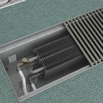 внутрипольный водяной конвектор