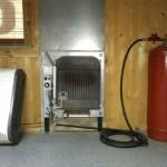 газовый конвектор на баллонном газе
