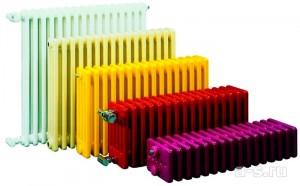 цветовая гамма трубчатого радиатора