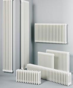 разнообразие форм трубчатого радиатора