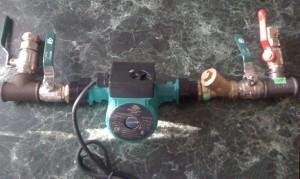 подключение насоса для отопления
