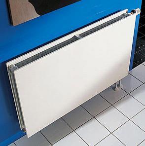 панельный стальной радиатор