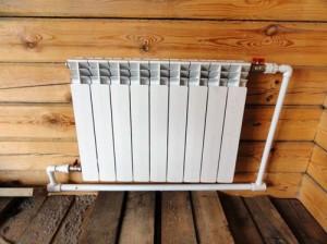 диагональное подключение алюминиевого радиатора