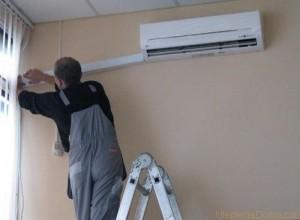сплит-система отопления дома