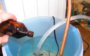 химическая промывка радиатора