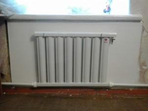 вакуумный радиатор в квартире