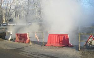 авария на магистрале отопления