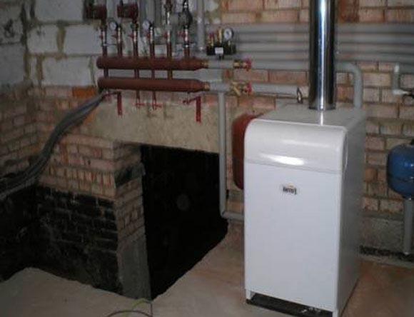котел газового конвектора