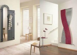 вертикальный радиатор Verta