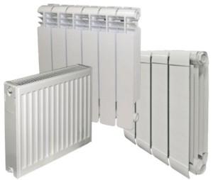 виды батареи отопления