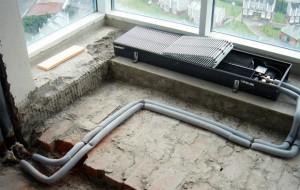 радиатор отопления встроенный в пол