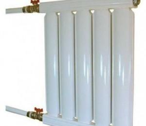 алюминиевая батарея литым методом