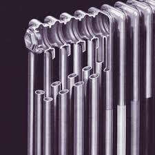 трубчатый радиатор в разрезе