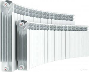 биметаллический радиатор 14-тисекционный