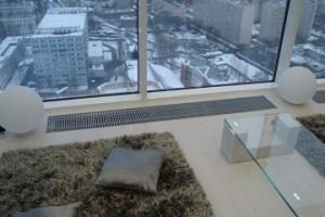 внутрипольный конвектор в квартире