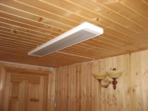 электробатарея на потолке