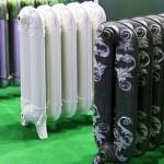 красивый дизайн чугунных радиаторов