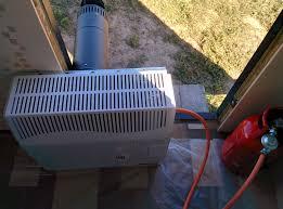 установка газового конвектора на баллонном газе