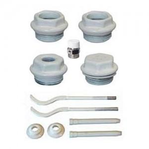 монтажный комплект для биметаллического радиатора