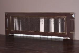 декоративная деревянная решетка на батарею