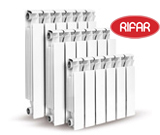 алюминиевый радиатор Рифар
