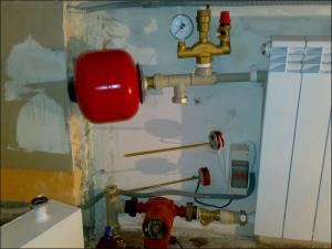 насос мокрого типа в системе отопления
