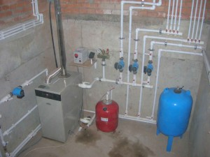 Как заполнить систему отопления газового котла