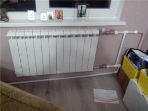 12-ти секционный радиатор отопления