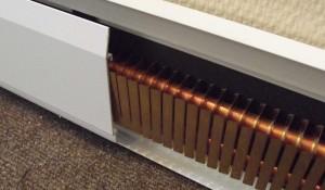 плинтусный электрический конвектор