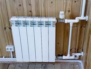 система отопления с биметаллическими радиаторами