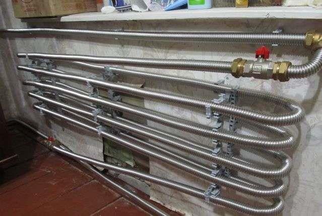 Радиатор отопления своими руками из трубы