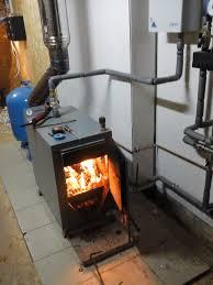 отопление на дровах