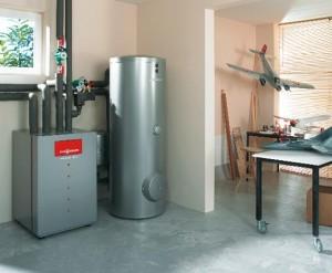 напольный газовый котел в квартире