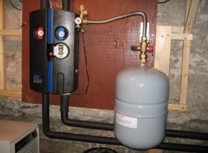 расширительный бачок в системе отопления