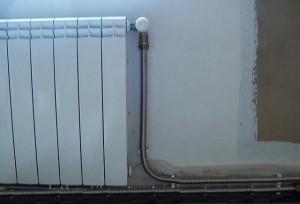 гофрированная труба в системе отопления