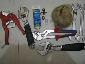 инструменты для установки котла
