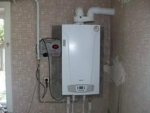 настенный газовый котел baxi