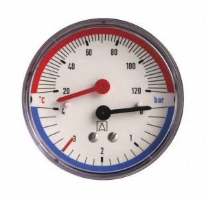 монометр для закрытой системы отопления