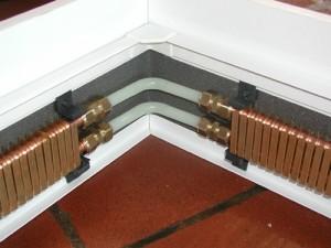 плинтусный радиатор отопления