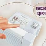 электронный термостат на конвекторе