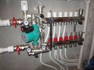 циркуляционный насос в системе отопления частного дома