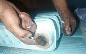 загрязненный радиатор