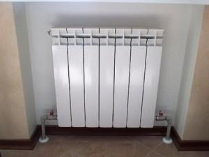 радиатор с нижней разводкой