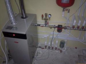 котел в автономном отопление дома