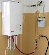 газовый котел отопления в квартире