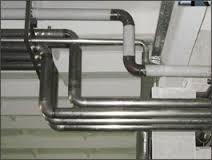 стальная труба отопления