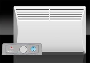 электрический конвектор с терморегулятором
