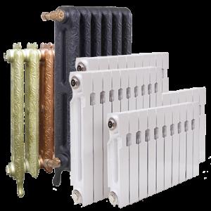 разные батареи отопления