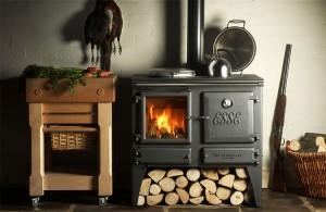 чугунная печь для отопления дома