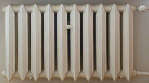классический чугунный радиатор